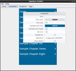 Screenshot Contents