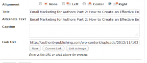 make sure keywords are in the blog post title