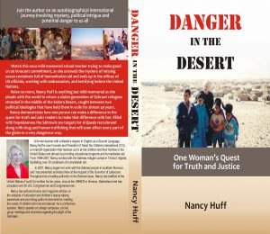 Danger in Desert Front Cover