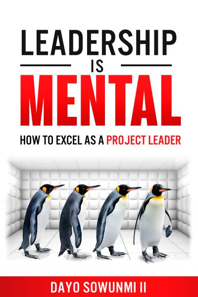 Book Award Winner: Leadership is Mental: How to Excel as a Project Leader