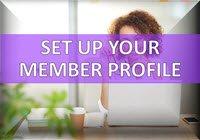 Set Up Member Profile