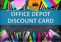 Office Depot Store Discount Card