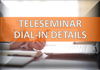 Teleseminar Dial-in Details