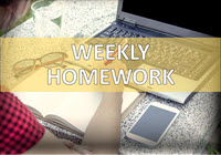 Weekly Homework Archives