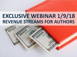Exclusive Webinar Event: Revenue Streams for Authors