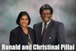 Ronald and Christinal Pillai