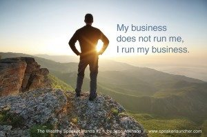 my business does not run me