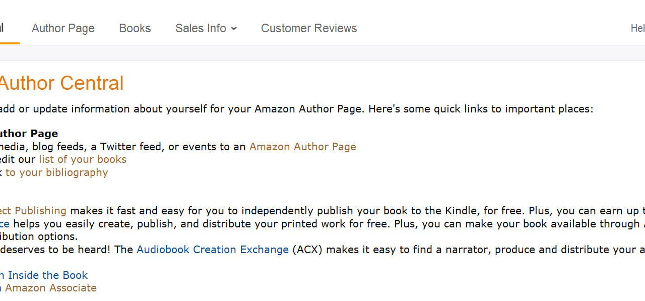 How to Make the Most of Amazon Author Central