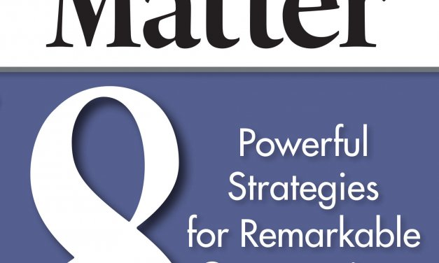 Book Award Winner: Meetings Matter: 8 Powerful Strategies for Remarkable Conversations