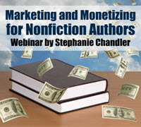 Marketing and Monetizing for Authors Webinar