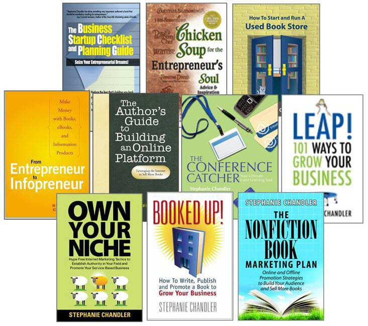 Books by Author, Professional Speaker Stephanie Chandler