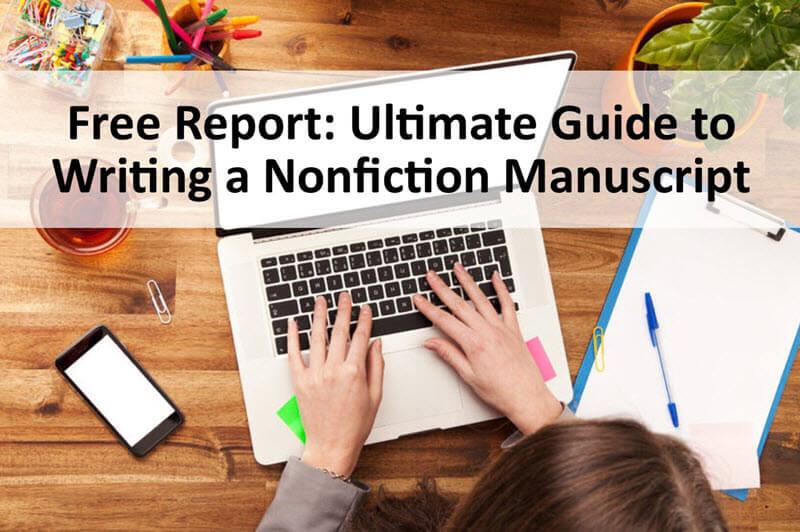 how to write a nonfiction book manuscript book