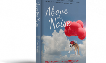 Book Award Winner: Above The Noise: Creating Trust, Value & Reputation Online Using Basic Digital PR