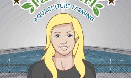 Book Award Winner: Texas Farm Girl:  Aquaculture Farming