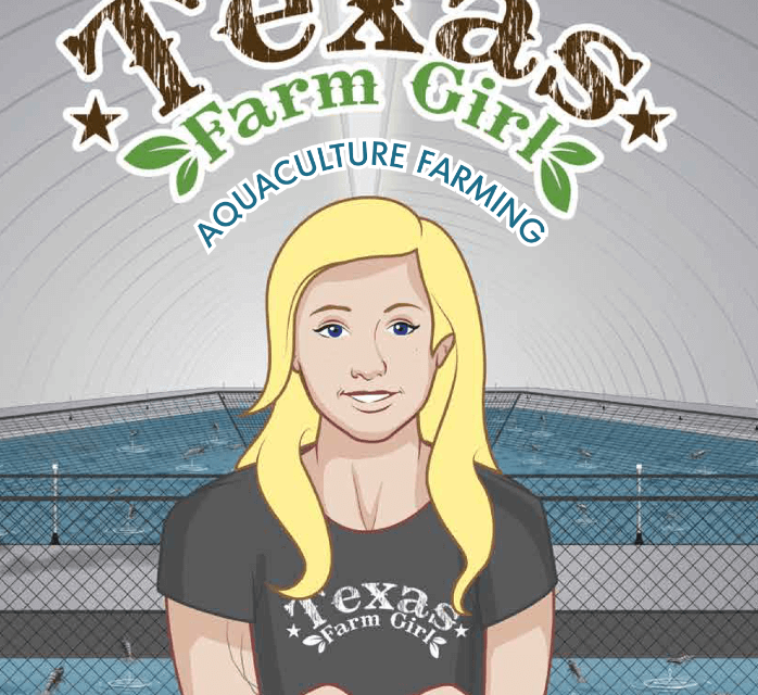 Book Award Winner: Texas Farm Girl:  Aquaculture Farming