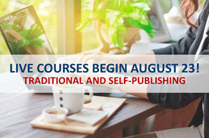 Publishing Courses Begin August 23!