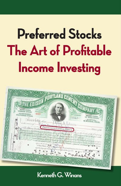 Book Award Winner: Preferred Stocks –The Art of Profitable Income Investing
