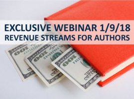 Exclusive Webinar Event: Revenue Streams for Authors