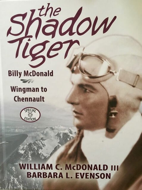 Book Award Winner: The Shadow Tiger: Billy McDonald, Wingman to Chennault