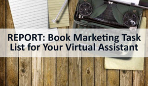 book marketing task list for virtual assistant