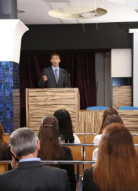 How do you get yourself booked for speaking engagements