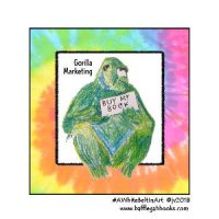 "Top 4 ""Gorilla Marketing"" Tips for Authors by the PR by the Book team"