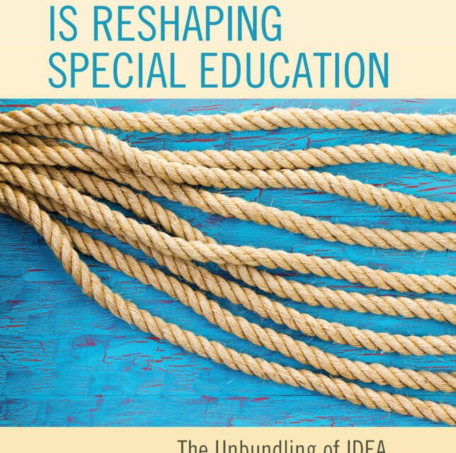 Book Award Winner: How Autism Is Reshaping Special Education: The Unbundling of IDEA