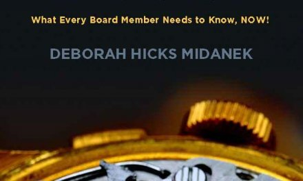 Member of the Week: Deborah Hicks Midanek, author of The Governance Revolution