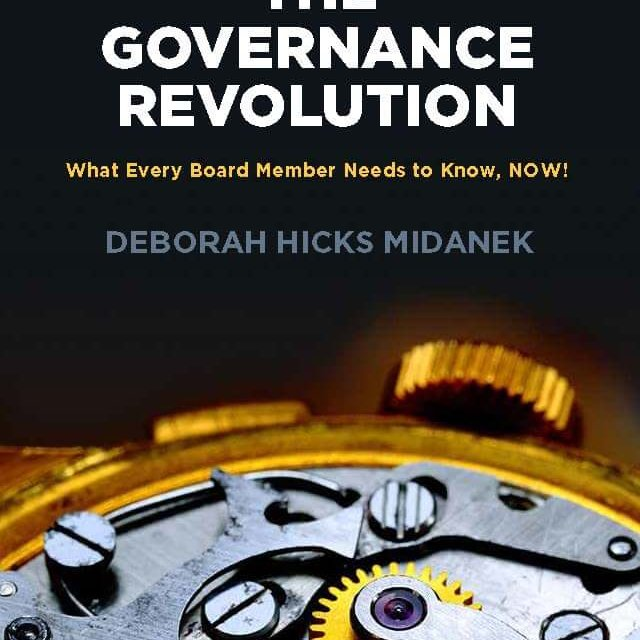 Book Award Winner: The Governance Revolution: What Every Board Member Needs to Know, Now!