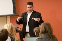 How to Relax During A Sales Presentation by Brian Jud