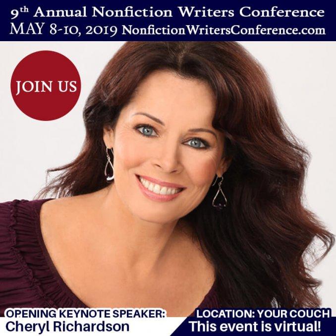 Nonfiction Writers Conference Keynote Speaker Cheryl Richardson