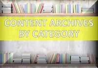 Content Archives by Category