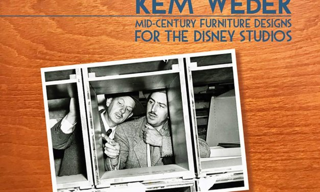 Book Award Winner: Kem Weber: Mid-Century Furniture Designs for the Disney Studios