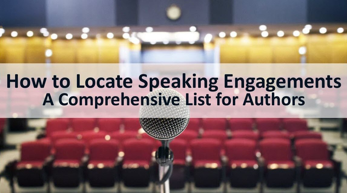 How to Locate Speaking Engagements: A Comprehensive Guide for Authors