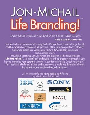 Jon Michail Life Branding Back Cover