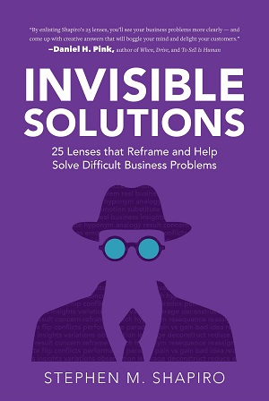 Member of the Week: Stephen Shapiro, author of Invisible Solutions