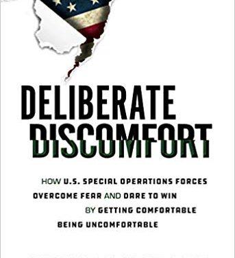 Book Award Winner: Deliberate Discomfort