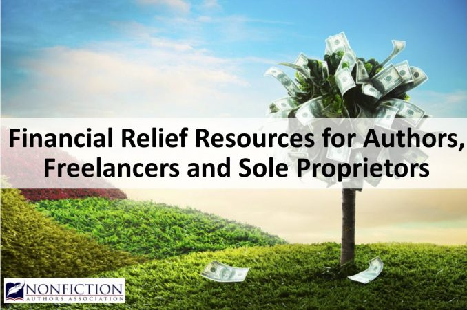 Financial relief resources for authors freelancers independent contractors