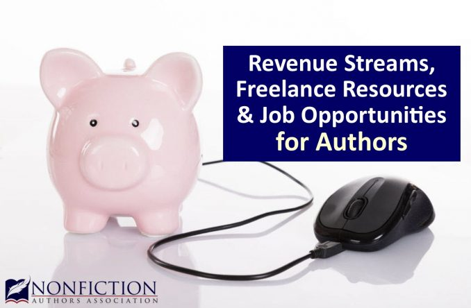 revenue streams freelance resources and job opportunities for authors