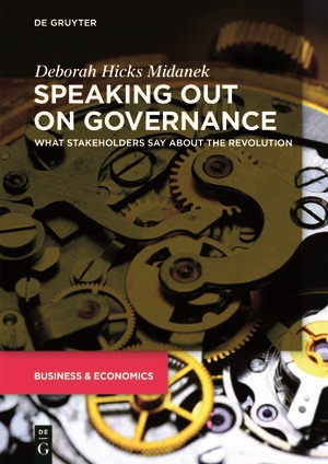 Speaking Out on Governance by Deborah Hicks Midanek