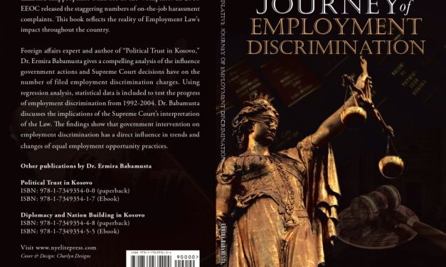 Book Award Winner: The Legislative Journey of Employment Discrimination