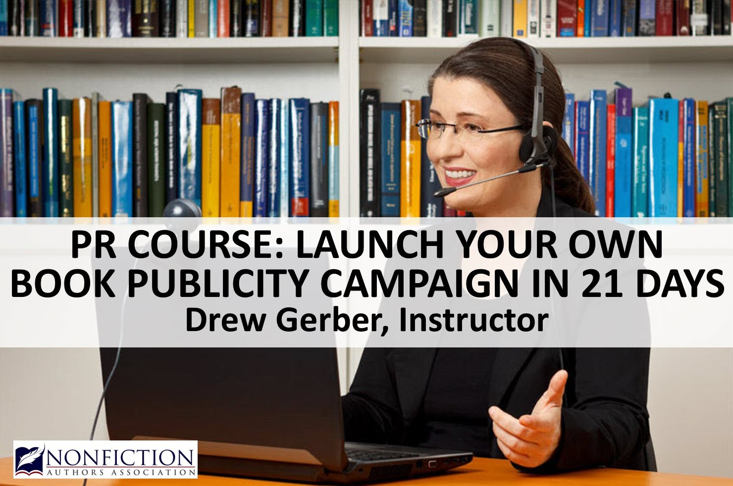 Course: Launch Your Own Book Publicity Campaign