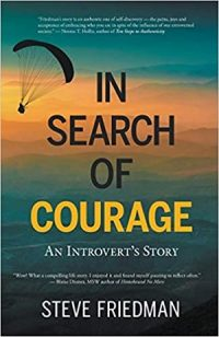 In Search of Courage An Introvert's Story by Steve Friedman