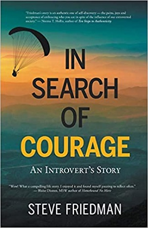 Author Interview: Steve Friedman, Author of In Search of Courage: An Introvert's Story