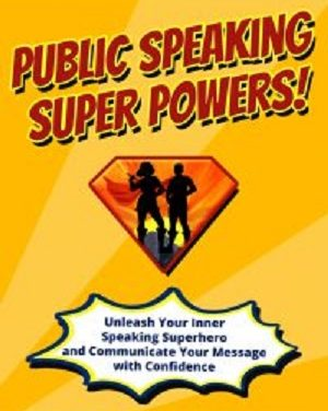 Author Interview: Carma Spence, Author of Public Speaking Super Powers