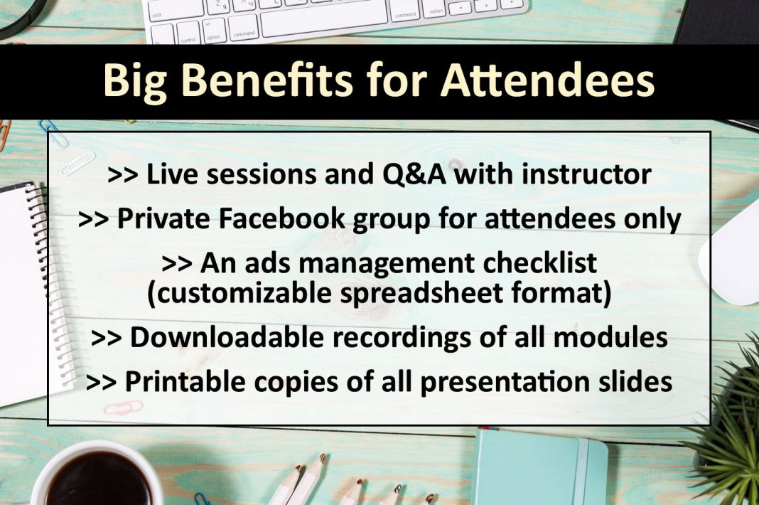benefits for attendees