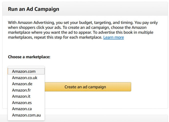 how to setup amazon ads automatic targeting