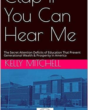 Member of the Week: Kelly Mitchell, author of Clap If You Can Hear Me