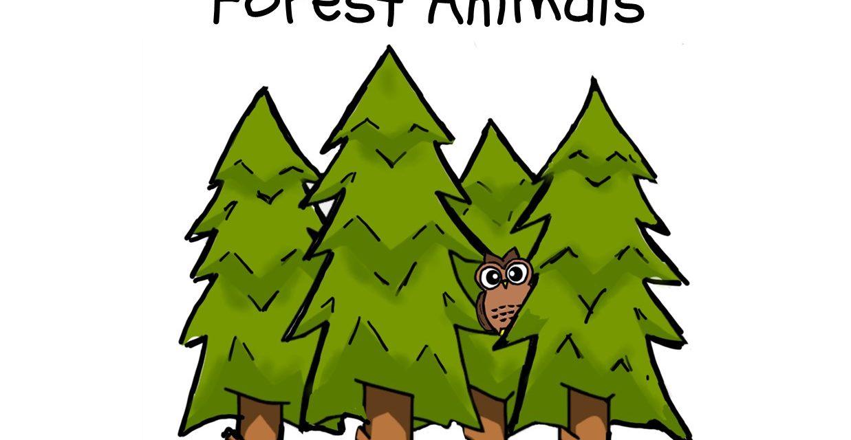 BOOK AWARD WINNER: FOREST ANIMALS