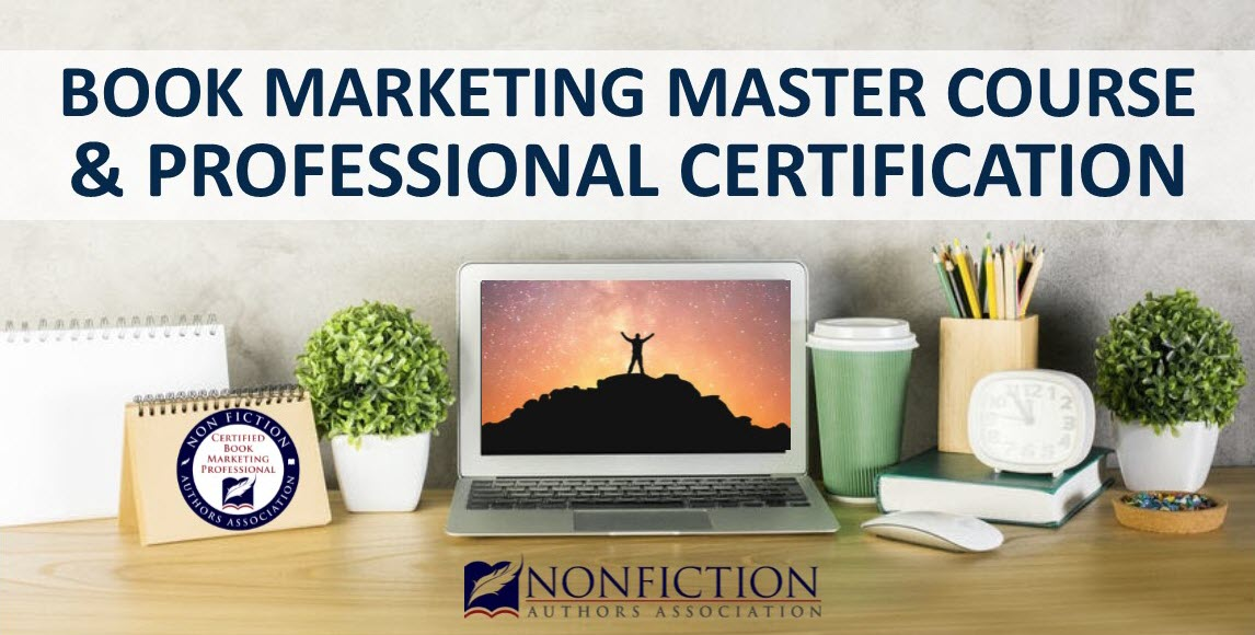 book marketing master course and professional certification program